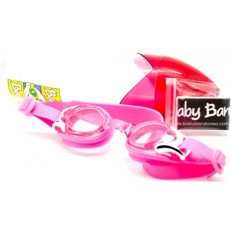 Ochelari pentru inot Baby Banz Roz